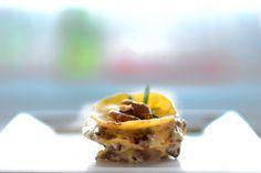 Het meeste lekkere en chique voorgerechtje ooit: lasagna met champignons en gorgonzola. Eenvoudig van tevoren te maken en zo verrassend lekker!
