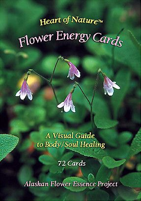 Heart Of Nature Flower Energy Cards Flowers Soul Healing Nature