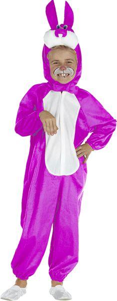 Roze konijnen kostuum voor kinderen