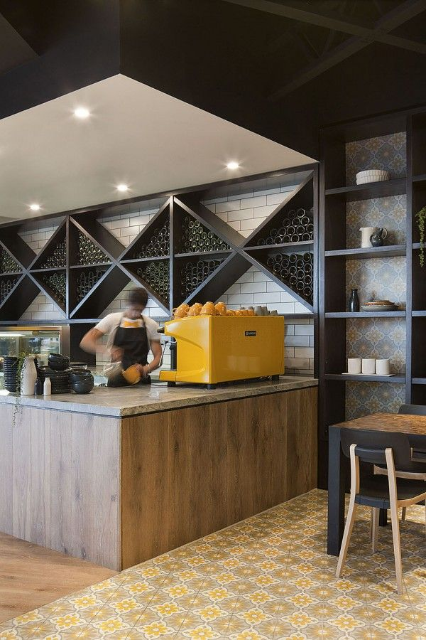 25 best ideas about modern restaurant design on pinterest for Italian cafe interior design ideas
