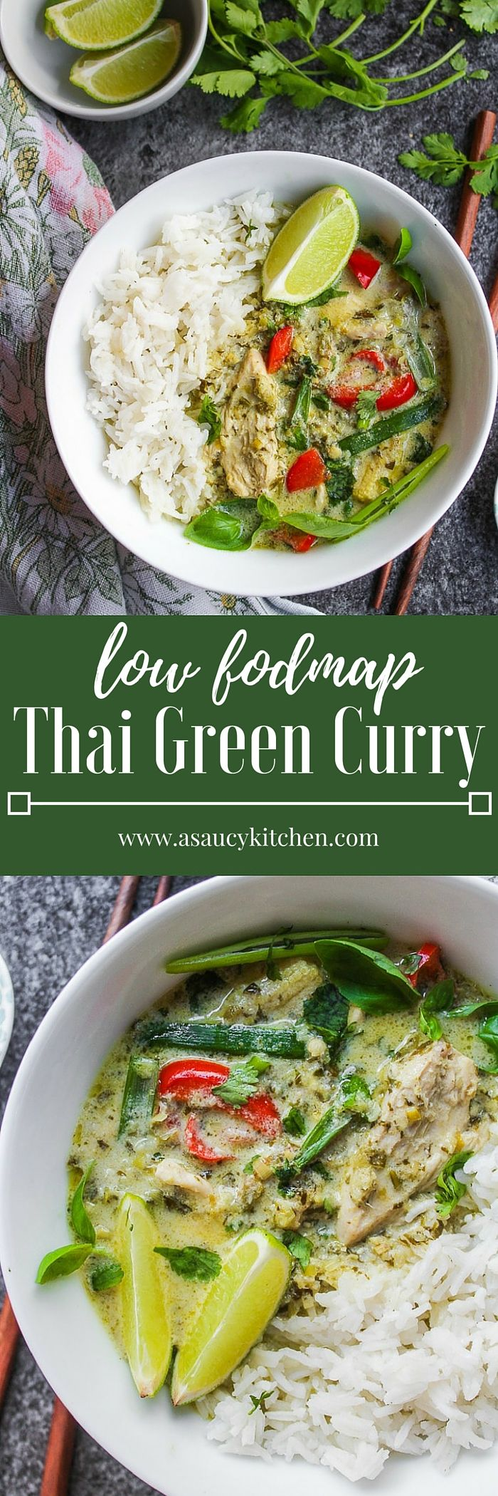 Low FODMAP Thai Green Curry