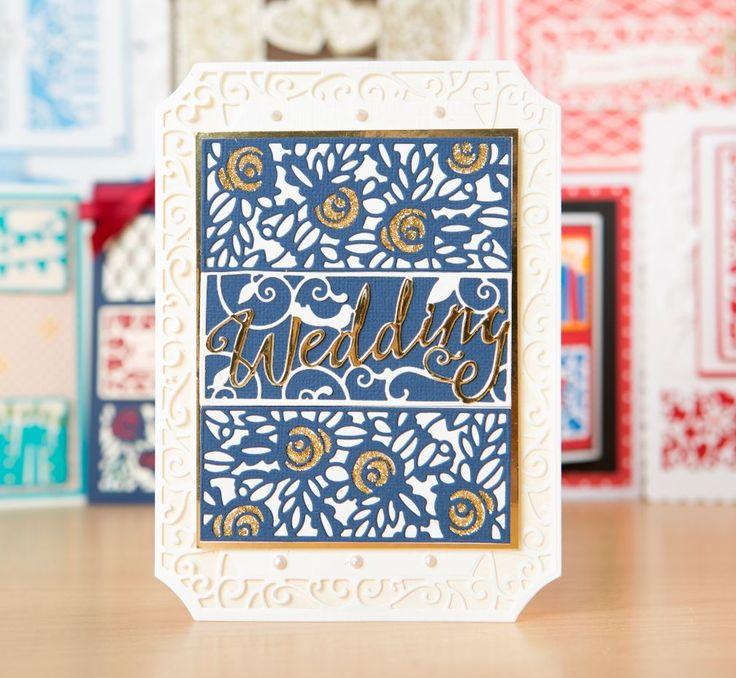 Make gorgeous wedding invitations with the @tonicstudiosuk Invitation Die Set! / party invitations / invitations / craft / papercraft / cardmaking