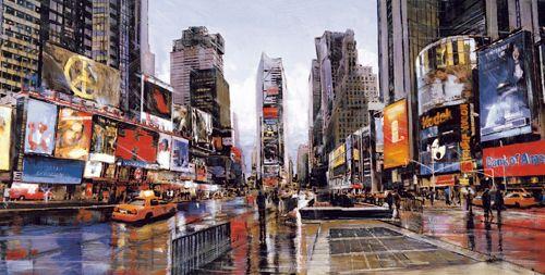 Evening in Times Square de Matthew Daniels