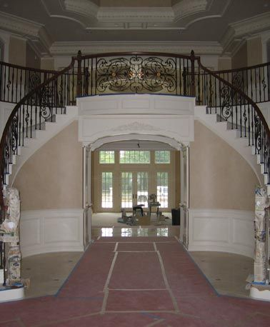 17 best images about monumental stairs on pinterest a for Double curved staircase
