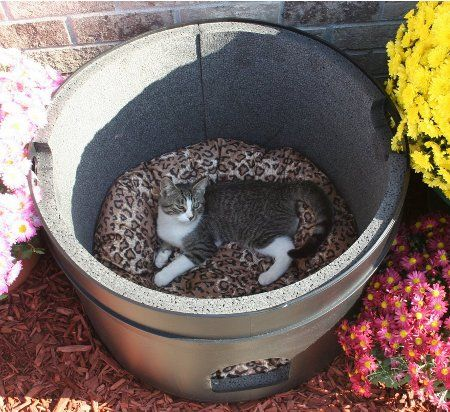 Keep Outdoor Cats Safe With The Kitty Tube Fully Insulated Outdoor Cat House