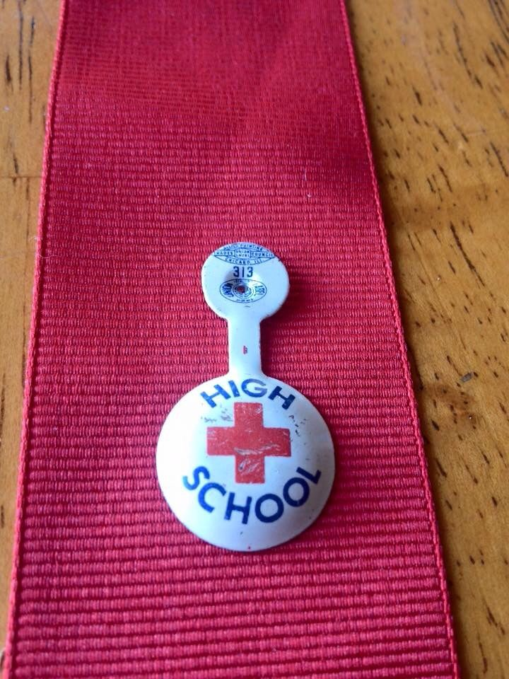American Junior Red Cross Pin