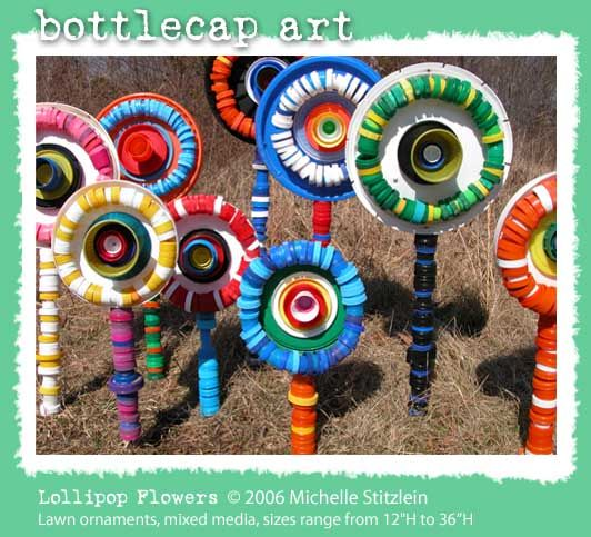 Bottlecap art :)Bottlecap, Bottle Caps, Plastic Bottle, Kids Crafts, Bottle Cap Art, Earth Day, Recycle Bottle, Art Projects, Recycle Art