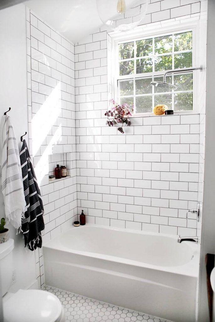 Modern Interior House Design Trend For 2020 White Bathroom Tiles