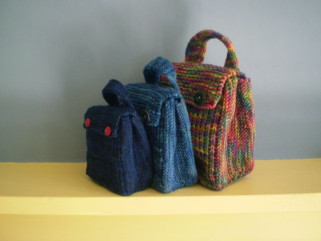 Treat Bag Free Knit Pattern By Frankie Brown Knitting