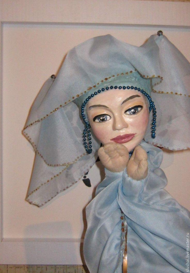 """Купить """"Фея"""". Перчаточная игрушка - Папье-маше, кукла ручной работы, кукла, театр"""