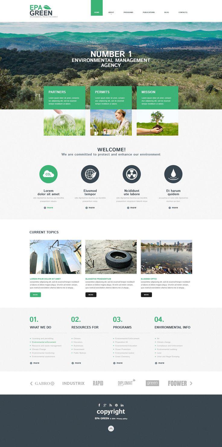 Environmental Responsive WordPress Theme http://www.templatemonster.com/wordpress-themes/52293.html
