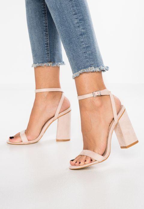 24ce2753914da ENYA - Sandales à talons hauts - nude @ ZALANDO.FR 🛒 en 2019 | I it |  Sandales à talons, Chaussure talon femme et Chaussures talons