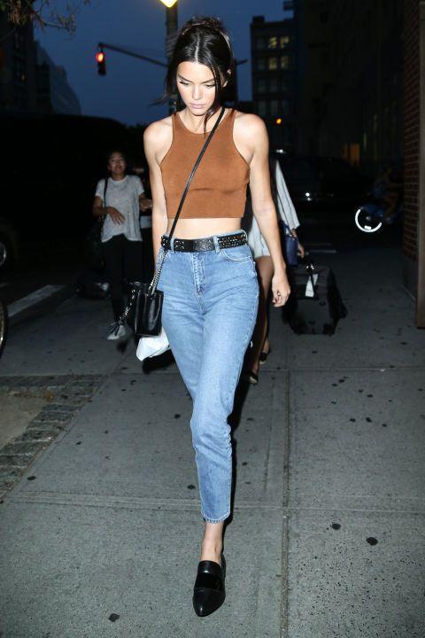 Shop Kendall Jenner's affordable Topshop jeans here: