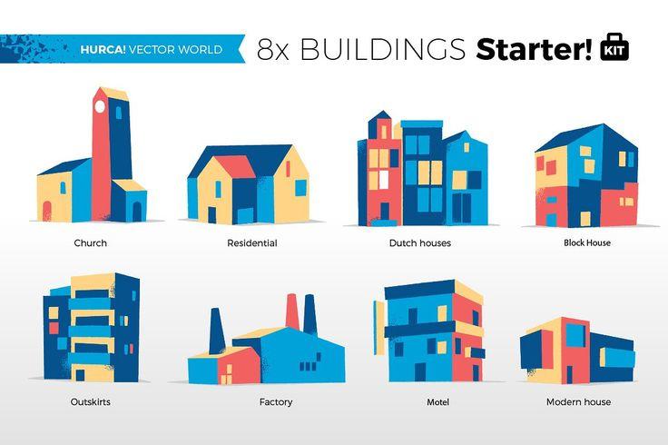 Vector World - Starter Kit by Hurca! Wow Vector Art on @creativemarket