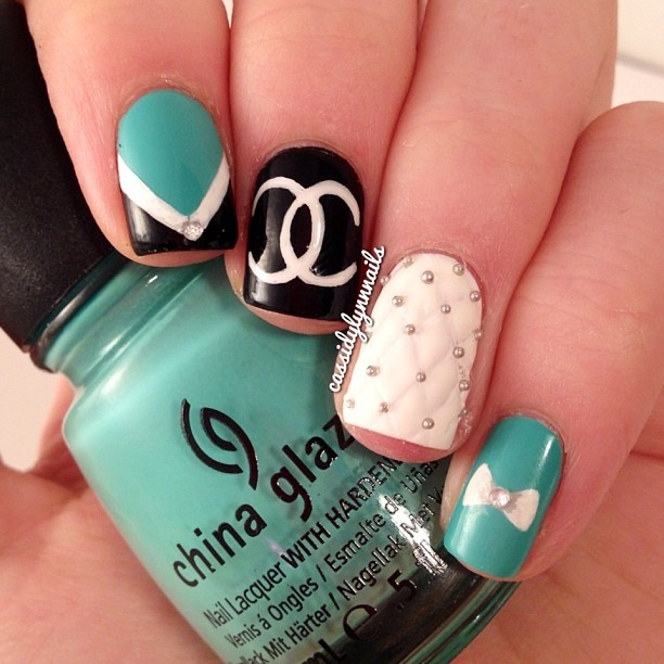 Chanel Nail Polish Cake: 17 Best Ideas About Chanel Nails On Pinterest