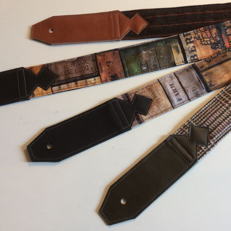 A bunch of straps