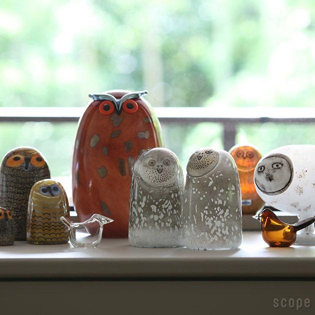iittala (イッタラ) / Birds by Oiva Toikka (バード バイ オイバ・トイッカ) Ugla