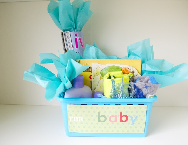 inexpensive baby shower gift for mom and baby all this can be done