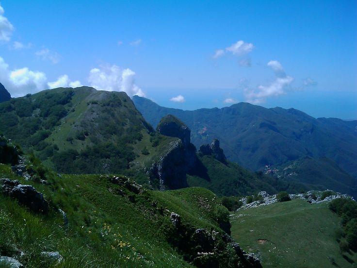 Monte Croce con veduta su Nona e Procinto