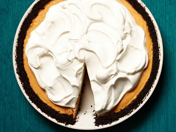 Pumpkin-Chocolate Chiffon Pie. Pretty sure I'm going to screw this up ...