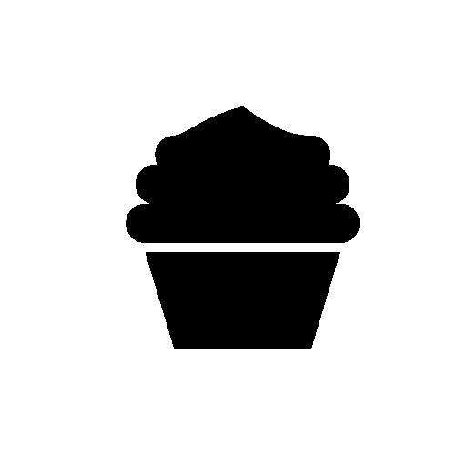 Cupcake Silhouette Free Icon Silhouette Silhouette