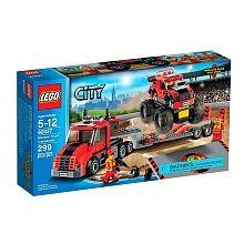 LEGO City - Camión de Transporte de Camiones Monstruo - 60027