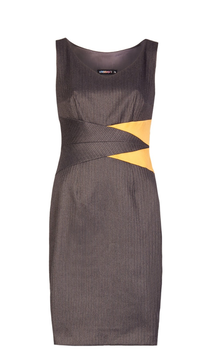 Vissavi color block dress