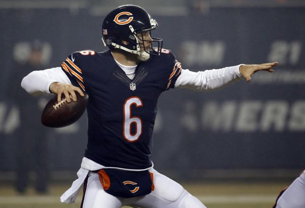 Just 14 games after giving Jay Cutler a mega-contract, the Chicago Bears are benching Cutler for Jimmy Clausen. @shadowsdani