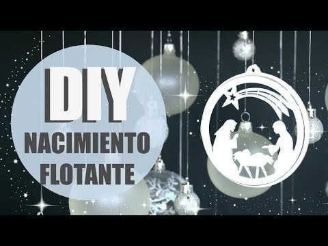 (16) DIY CENTRO DE MESA FLOTANTE CON NACIMIENTO! PAOLA HERRERA - YouTube