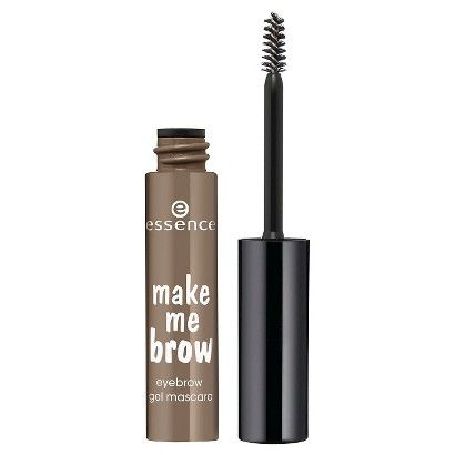 Essence Make Me Brow Eyebrow Gel in Browny Brows. Dupe for Benefit Gimme Brow.