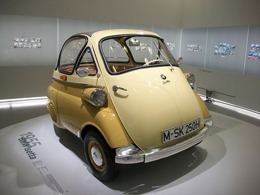 #ThrowbackThursday to the 1955 BMW Isetta, which was the top-selling single-cylinder car in the world.