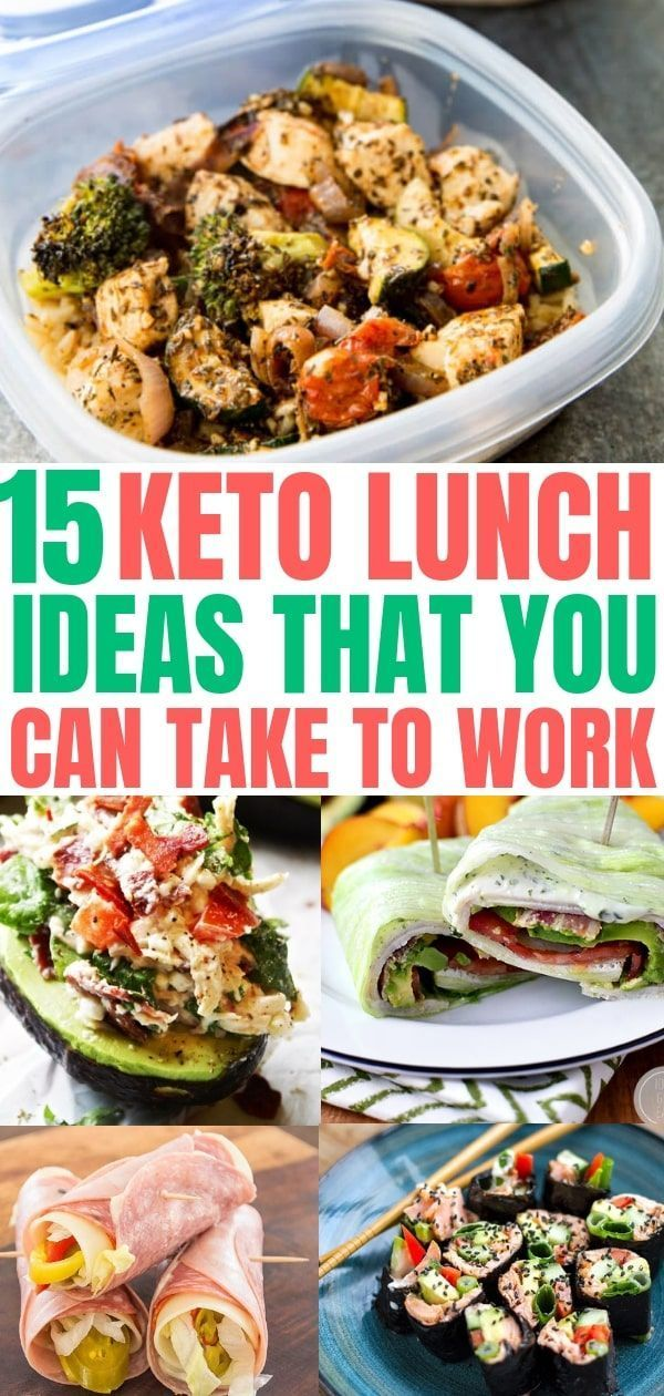 Keto Diet Plan: 15 Keto lunch ideas that you can take to work. Easy low carb lunch recipes. The …