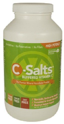C-Salts® GMO FREE Buffered Vitamin C Powder (1000mg - 4000mg) | 140  Servings, 1.6 lbs (26oz) | The Highest Quality, Best Value Mega Dose/High Dose Form Of Vitamin C Supplement On The Market Today >>> Read more reviews of the product by visiting the link on the image.