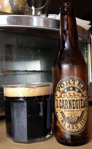 Carnegie Klass III Porter, Carlsberg Sverige AB, Bryggerivägen Stockholm, Sweden - bought in Santa Cruz, California