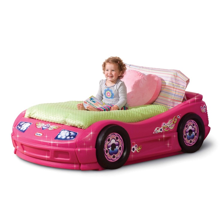 Little Tikes Princess Pink Toddler Roadster Bed Girls Will Love This With Race Car Styling Fun Uses A Standard
