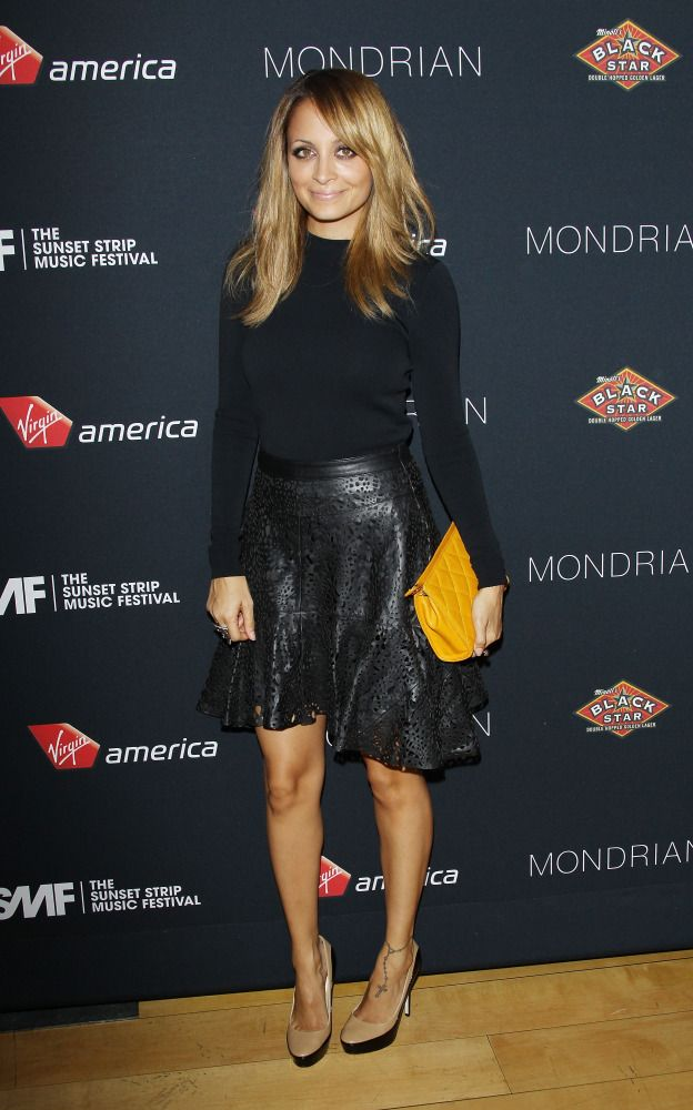 Nicole Richie is a perfect petite style inspiration