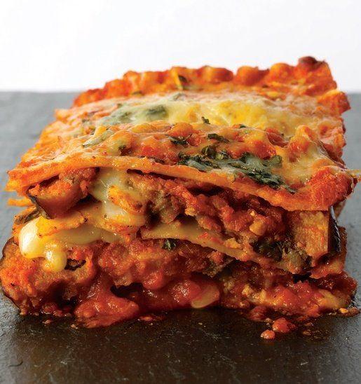 Eggplant Parmesan Lasagna - Eggplant Parmesan Lasagna with layers of wonderful flavor!