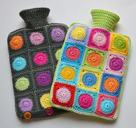 Hotwater bottle cosie