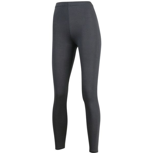 ililily Women's Light weight Footless Slim Leggings Basic Solid Skinny... ($7.99) ❤ liked on Polyvore featuring pants, leggings, slimming leggings, leggings pants, slim trousers, slim fit pants and slim fit trousers