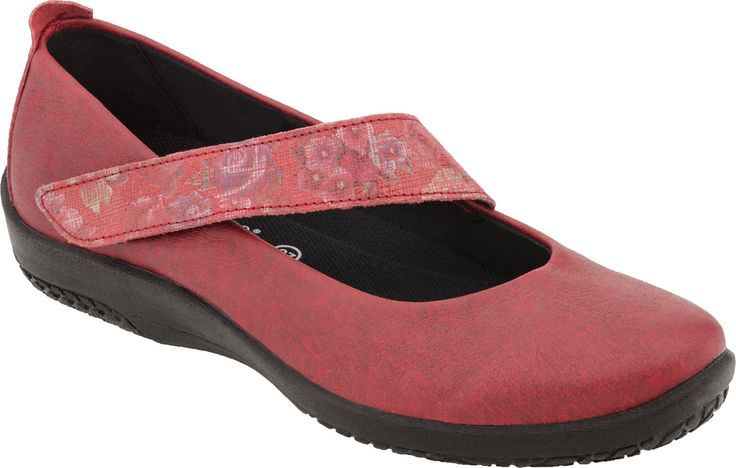 Buy the Arcopedico Lisa mary jane at PlanetShoes.com. Arcopedico shoes exercises the foot, strengthen the muscles, assist the circulation of the blood and ensure more comfort in walking at PlanetShoes.com, your trusted source for feel-good footwear, with free shipping & returns! (Red Flw)