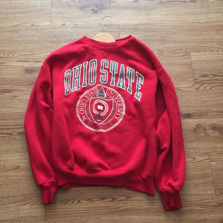 Vintage 80's Ohio State Crewneck Sweatshirt by VNTGvault on Etsy