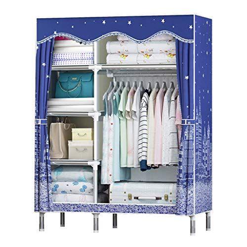 f9c117c3efdf Xiao Jian Cloth Wardrobe Fabric Storage Cabinet Wardrobe Storage ...
