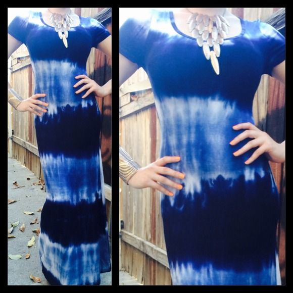 """Selling this """"Tie die maxi"""" in my Poshmark closet! My username is: ckitig. #shopmycloset #poshmark #fashion #shopping #style #forsale #Dresses & Skirts"""