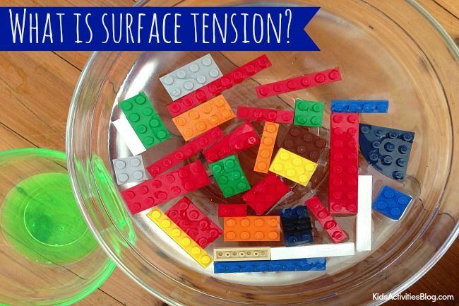 Simple and easy kitchen science for kids --->Surface Tension: Experiment with Salt {Science for Kids}