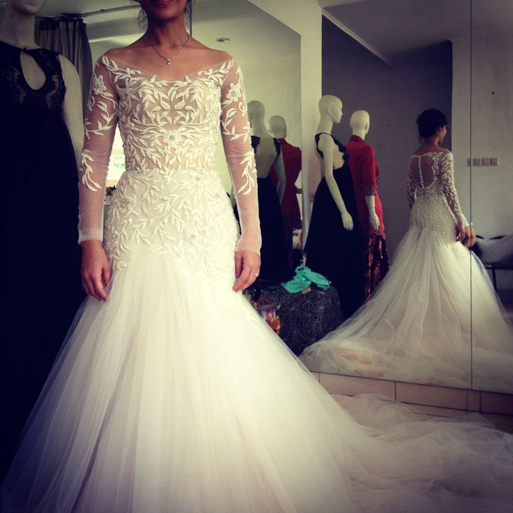 Wedding dress for Meryl
