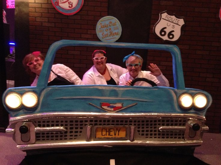 Styrofoam Car Prop 50 S Diner 1950s Party Decorations