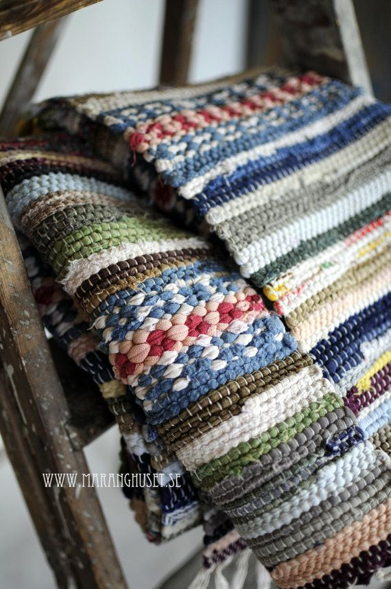 R E S E R V E D - Three Sisters Rug - The big Sister - Swedish hand loomed