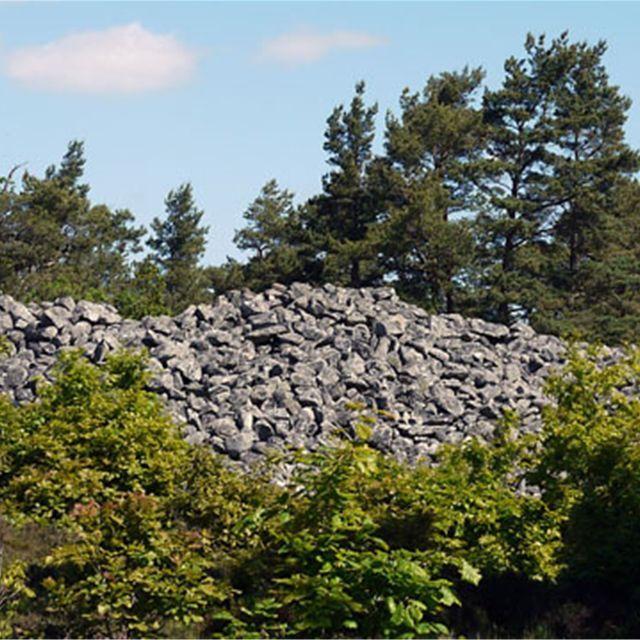 Högarör - bronsåldersgrav.  På Sternö finns Blekinges största gravröse.  Under bronsåldern (1500-500 f Kr) infördes i Sverige bruket att kasta jord eller sten över de döda. I början av bronsåldern jordades de avlidna i en urholkad trädsam utan att brännas, men i slutet av perioden blev det sed att bränna de döda. Askan placerades i en lerurna, som sedan täcktes med sten eller jord.
