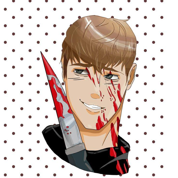 Sangwoo from Killing Stalking! By meeeee  @emmymeowstoday