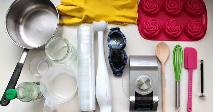 """Kraina Mydlanych Inspiracji: Instrukcja jak zrobić mydło metodą """" na zimno"""""""